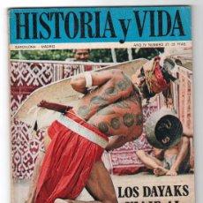 Coleccionismo de Revista Historia y Vida: REVISTA MENSUAL HISTORIA Y VIDA. AÑO IV. Nº 37. MADRID BARCELONA ABRIL DE 1971. Lote 15165609