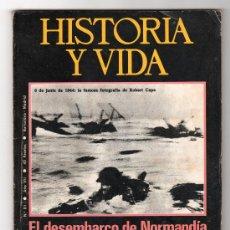 Coleccionismo de Revista Historia y Vida: REVISTA MENSUAL HISTORIA Y VIDA. AÑO VII. Nº 81. MADRID BARCELONA DICIEMBRE DE 1974. Lote 15165761
