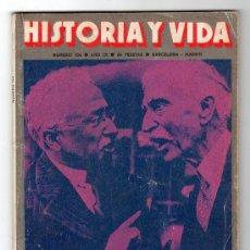 Coleccionismo de Revista Historia y Vida: REVISTA MENSUAL HISTORIA Y VIDA. AÑO IX. Nº 104. MADRID BARCELONA NOVIEMBRE DE 1976. Lote 15165917