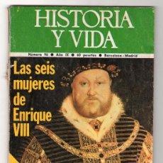 Coleccionismo de Revista Historia y Vida: REVISTA MENSUAL HISTORIA Y VIDA. AÑO IX. Nº 96. MADRID BARCELONA MARZO DE 1976. Lote 15165927
