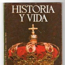 Coleccionismo de Revista Historia y Vida: REVISTA MENSUAL HISTORIA Y VIDA. AÑO IX. Nº 94. MADRID BARCELONA ENERO DE 1976. Lote 15166039