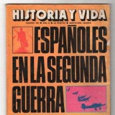 Coleccionismo de Revista Historia y Vida: REVISTA MENSUAL HISTORIA Y VIDA. AÑO X. Nº 106. MADRID BARCELONA ENERO DE 1977. Lote 15166079