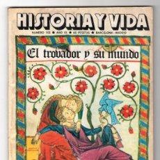 Coleccionismo de Revista Historia y Vida: REVISTA MENSUAL HISTORIA Y VIDA. AÑO IX. Nº 103. MADRID BARCELONA OCTUBRE DE 1976. Lote 15166089
