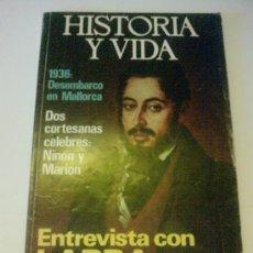 Coleccionismo de Revista Historia y Vida: HISTORIA Y VIDA NUMERO 91. Lote 27423297