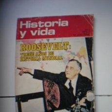 Coleccionismo de Revista Historia y Vida: HISTORIA Y VIDA - ROOSEVELT. Lote 19414663
