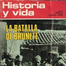 Coleccionismo de Revista Historia y Vida: HISTORIA Y VIDA. MAYO 1972. AÑO V. Nº 50. BRUNETE.GEORGE SAND.PARACELSO. JULIAN BESTEIRO.. Lote 26211923