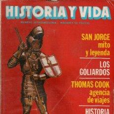 Coleccionismo de Revista Historia y Vida: REVISTA HISTORIA Y VIDA Nº 169 ABRIL 1982. Lote 26109735