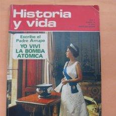 Collectionnisme de Magazine Historia y Vida: HISTORIA Y VIDA - PADRE ARRUPE - ISABEL II - AÑO V Nº 53. Lote 28360421