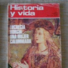 Coleccionismo de Revista Historia y Vida: REVISTA HISTORIA Y VIDA Nº 67----OCTUBRE 1973----. Lote 31621267