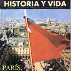 Coleccionismo de Revista Historia y Vida: HISTORIA Y VIDA - Nº 302 - PARÍS MAYO 1968 - COLISEO DE ROMA - JUAN DE BORBÓN - LA MANZANA. Lote 32543879