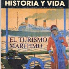 Coleccionismo de Revista Historia y Vida: HISTORIA Y VIDA - Nº 305 - EL TURISMO MARÍTIMO. Lote 32573588