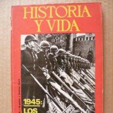 Coleccionismo de Revista Historia y Vida: REVISTA: HISTORIA Y VIDA - Nº 92. Lote 33005741