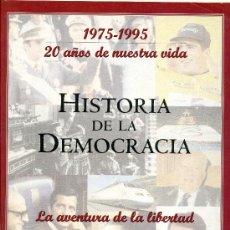 Coleccionismo de Revista Historia y Vida: HISTORIA DE LA DEMOCRACIA - FASCÍCULOS - EL MUNDO. Lote 33418399