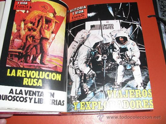 Coleccionismo de Revista Historia y Vida: 1982 CUATRO NUMEROS EXTRA DE HISTORIA Y VIDA ( DEL Nº 25 AL 28) - Foto 3 - 33726724