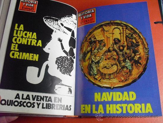 Coleccionismo de Revista Historia y Vida: 1982 CUATRO NUMEROS EXTRA DE HISTORIA Y VIDA ( DEL Nº 25 AL 28) - Foto 4 - 33726724