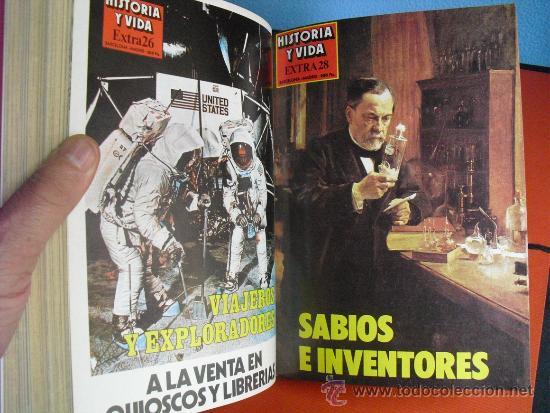 Coleccionismo de Revista Historia y Vida: 1982 CUATRO NUMEROS EXTRA DE HISTORIA Y VIDA ( DEL Nº 25 AL 28) - Foto 5 - 33726724