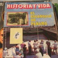 Coleccionismo de Revista Historia y Vida: EL ESCANDALO DE PANAMA Nº 264HISTORIA Y VIDA19902,00 € . Lote 34475836