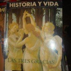 Coleccionismo de Revista Historia y Vida: HISTORIA Y VIDA Nº 306. LAS TRES GRACIAS. Lote 136505852