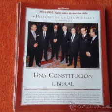 Coleccionismo de Revista Historia y Vida: 1975 - 1995 VEINTE AÑOS DE NUES VIDA - HISTORIA DE LA DEMOCRACIA - UNA CONSTITUCION LIBERAL , FRAGA . Lote 37952820
