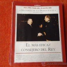 Coleccionismo de Revista Historia y Vida: 1975 - 1995 VEINTE AÑOS DE NUES VIDA - HISTORIA DE LA DEMOCRACIA - CONSEJERO DEL REY. Lote 37953339