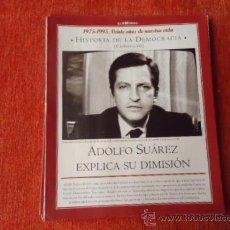 Coleccionismo de Revista Historia y Vida: 1975 - 1995 VEINTE AÑOS DE NUES VIDA - HISTORIA DE LA DEMOCRACIA - ADOLFO SUAREZ. Lote 37953357