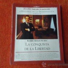 Coleccionismo de Revista Historia y Vida: 1975 - 1995 VEINTE AÑOS DE NUES VIDA - HISTORIA DE LA DEMOCRACIA - ADOLFO SUAREZ. Lote 37953360