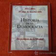 Coleccionismo de Revista Historia y Vida: 1975 - 1995 VEINTE AÑOS DE NUES VIDA - HISTORIA DE LA DEMOCRACIA - FASCICULO RESUMEN. Lote 37953401