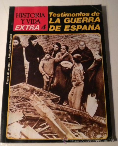 HISTORIA Y VIDA - EXTRA Nº 4 (Coleccionismo - Revistas y Periódicos Modernos (a partir de 1.940) - Revista Historia y Vida)