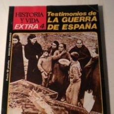 Coleccionismo de Revista Historia y Vida: HISTORIA Y VIDA - EXTRA Nº 4 . Lote 39377286