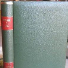"""Coleccionismo de Revista Historia y Vida: REVISTA """"HISTORIA Y VIDA"""" ENCUADERNADA. SEGUNDO SEMESTRE 1973 (Nº 64 A 69).. Lote 39890847"""