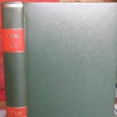 """Coleccionismo de Revista Historia y Vida: REVISTA """"HISTORIA Y VIDA"""" ENCUADERNADA. PRIMER SEMESTRE 1977 (Nº 106 A 111).. Lote 39899079"""