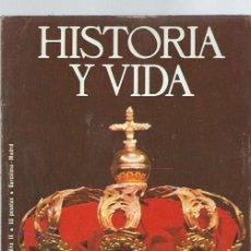 Coleccionismo de Revista Historia y Vida - HISTORIA Y VIDA Nº 94, AÑO IX, DE ALFONSO XII A JUAN CARLOS I, TRES MENSAJES PARA UNA CORONA - 39915025