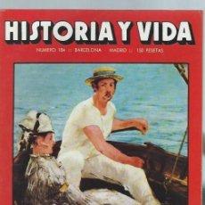 Coleccionismo de Revista Historia y Vida: HISTORIA Y VIDA, Nº 184, AÑO XVI, JULIO 1983, EDUARD MANET, LA MANCOMUNIDAD DE CATALUÑA. Lote 39948430
