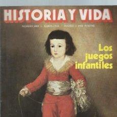 Coleccionismo de Revista Historia y Vida: HISTORIA Y VIDA, Nº 222, AÑO XIX, SEPTIEMBRE 1986, EL CORREO EN ESPAÑA,EL ANFITEATRO DE JEM. Lote 39948557