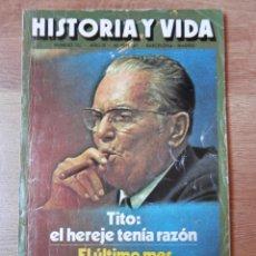 Coleccionismo de Revista Historia y Vida: HISTORIA Y VIDA. TITO: EL HEREJE TENÍA RAZÓN. Nº 101 - DIVERSOS AUTORES. Lote 35334942