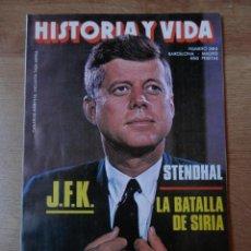 Coleccionismo de Revista Historia y Vida: HISTORIA Y VIDA. J.F.K. Nº 289 - DIVERSOS AUTORES. Lote 35335151