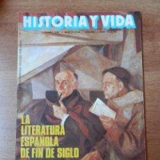 Coleccionismo de Revista Historia y Vida: HISTORIA Y VIDA. LA LIERATURA ESPAÑOLA DE FIN DE SIGLO. Nº 296 - DIVERSOS AUTORES. Lote 35335210