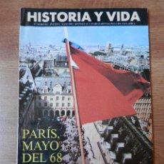 Coleccionismo de Revista Historia y Vida: HISTORIA Y VIDA. PARÍS, MAYO DEL 68. Nº 302 - DIVERSOS AUTORES. Lote 35335287