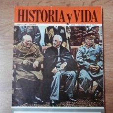 Coleccionismo de Revista Historia y Vida: HISTORIA Y VIDA. YALTA: OPERACIÓN REPARTO. Nº 8 - DIVERSOS AUTORES. Lote 35335410