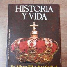 Coleccionismo de Revista Historia y Vida - Historia y Vida. De Alfonso XII a Juan Carlos I: tres mensajes para una corona. Nº 94 - Diversos aut - 35335531