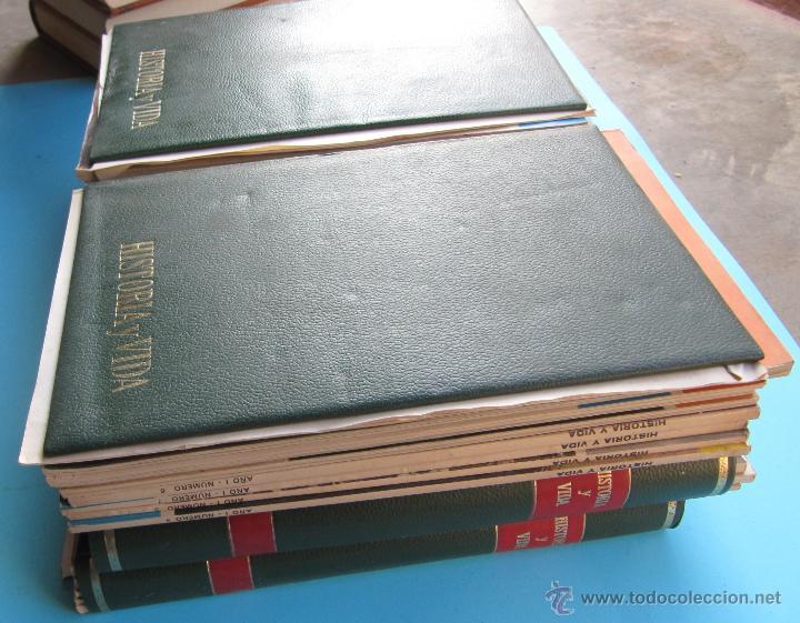 Coleccionismo de Revista Historia y Vida: HISTORIA Y VIDA LOS 39 PRIMEROS NÚMEROS MENOS UNO. CON LAS TAPAS. ABRIL DE 1968 A JUNIO DE 1971. - Foto 3 - 40516495