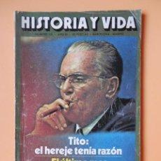 Coleccionismo de Revista Historia y Vida: HISTORIA Y VIDA. TITO: EL HEREJE TENÍA RAZÓN. AÑO IX. Nº 101 - DIVERSOS AUTORES. Lote 58580539
