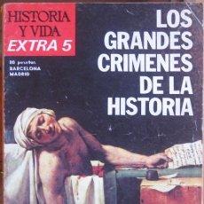 """Sammeln von Zeitschriften Historia y Vida - REVISTA """"HISTORIA Y VIDA"""" (EXTRA Nº 5–1975). LOS GRANDES CRÍMENES DE LA HISTORIA - 41098993"""