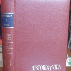 """Coleccionismo de Revista Historia y Vida: REVISTA """"HISTORIA Y VIDA"""" ENCUADERNADA. EXTRAS Nº 25-26-27-28, AÑO 1982-1983. Lote 41118962"""