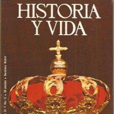 Coleccionismo de Revista Historia y Vida - ** HV116 - HISTORIA Y VIDA Nº 94 - DE ALFONSO XII A JUAN CARLOS I : TRES MENSAJES PARA UNA CORONA - 41344461