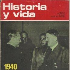 Coleccionismo de Revista Historia y Vida - == HV11 - HISTORIA Y VIDA Nº 63 - 1940 ENCUENTRO HITLER SERRANO SUÑER - 41345336