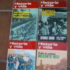Coleccionismo de Revista Historia y Vida: HISTORIA Y VIDA.BELCHITE,CARLISMO,EJERCITO REPUBLICANO,BATALLA DE BRUNETE.. Lote 45270357