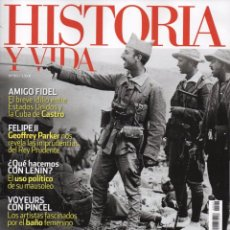 Coleccionismo de Revista Historia y Vida: HISTORIA Y VIDA N. 567 - EN PORTADA: AFRICANISTAS (NUEVA). Lote 180106353