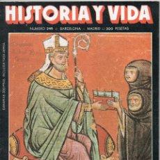 Coleccionismo de Revista Historia y Vida: REVISTA HISTORIA Y VIDA Nº 246 SEPTIEMBRE 1988: LA DINASTÍA BORBÓNICA Y LA AERONÁUTICA . Lote 51255436