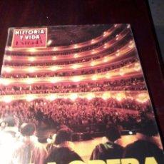 Coleccionismo de Revista Historia y Vida: REVISTA HISTORIA Y VIDA EXTRA 43. LA OPERA. B5R. Lote 107995524